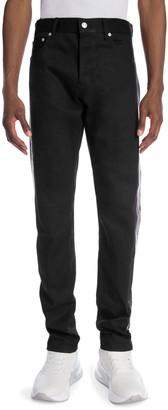 Alexander McQueen Striped Denim Jeans