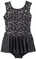 Jacques Moret Girls 4-16 Silver Hearts Tank Skirtall