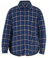 Balenciaga Checked Point-collar Padded Cotton Coat