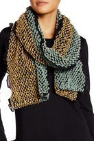 Cara Accessories Ruffle Knit Scarf