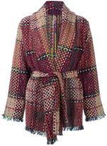 Etro belted coat
