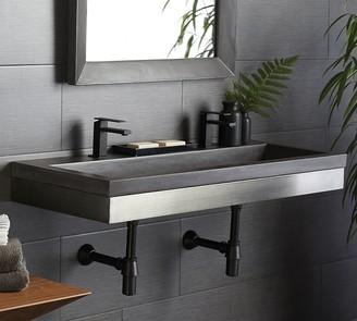 "Pottery Barn Emia 48"" Floating Single Sink Vanity"
