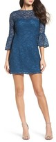 BB Dakota Women's Billie Bell Sleeve Lace Dress