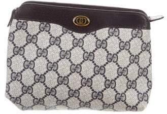 702c580c7bc8 Gucci Vintage GG Plus Cosmetic Bag