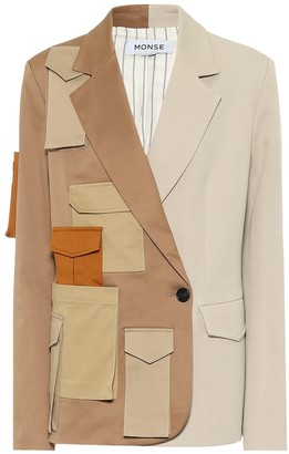 Monse Deconstructed cotton blazer