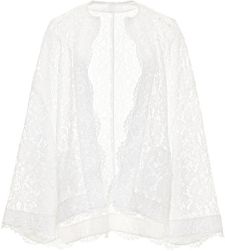 Valentino Open Front Lace Jacket