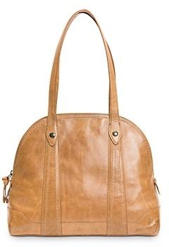 Frye Melissa Medium Domed Leather Satchel Bag