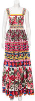 Dolce & Gabbana Spring 2017 Mambo Print Gown w/ Tags