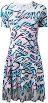 Kenzo Disco Lyrics printed dress - women - Cotton/Viscose/Spandex/Elastane - M