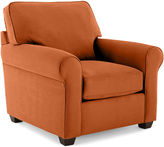 JCPenney Fabric Possibilities Roll-Arm Chair