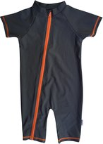 SwimZip Baby Boy Short Sleeve Sunsuit with UPF 50+ UV Sun Protection Fabric