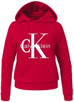 CK Calvin Klein Printed Hoodies Calvin Klein CK Printed For Ladies Womens Hoodies Sweatshirts Pullover Tops