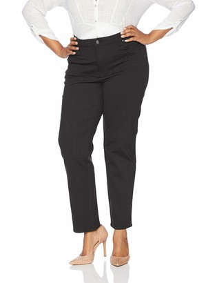 Gloria Vanderbilt Women's Misses Amanda Ponte Knit Pant