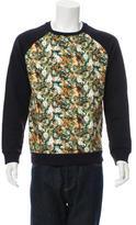 Ami Alexandre Mattiussi Floral Pullover Sweatshirt
