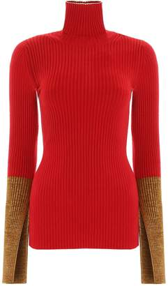 Moncler Genius 1952 Bicolor Cuff Turtleneck Sweatshirt