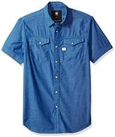 G Star Men's Tacoma Deconstructed Shirt S/s