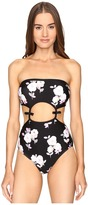 Kate Spade Posey Grove Bandeau One-Piece Women's Swimsuits One Piece