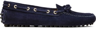 Car Shoe The Original Driver eyelet detail loafers
