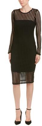 KENDALL + KYLIE Lattice Shift Dress
