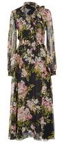 Giambattista Valli Floral-Print Chiffon Dress