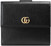 Gucci Leather french flap wallet