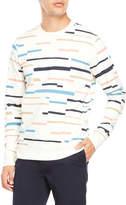 Wesc Miles Broken Stripe Sweatshirt