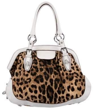 Dolce & Gabbana Animalier Shoulder Bag