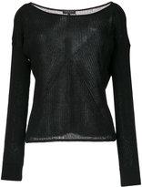 Rag & Bone fine knit jumper - women - Cotton/Polyamide - XS