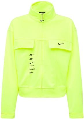 Nike Swoosh Print Tech Track Jacket