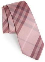 Burberry 'Manston' Check Silk Tie