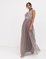 Angeleye ANGELEYE embellished maxi dress