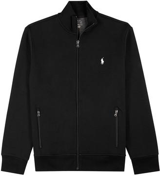 Polo Ralph Lauren Black jersey track jacket