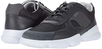 HUGO BOSS Rapid Low Top Sneaker by Black 1) Men's Shoes