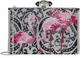 Judith Leiber Flamingo Clutch Bag