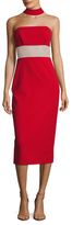 ABS by Allen Schwartz Halter Sheath Dress