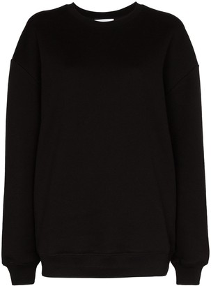 Ninety Percent Oversized Long-Sleeve Sweatshirt