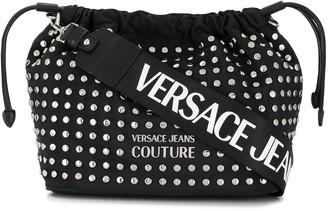 Versace Studded Drawstring Bag