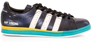 Adidas By Raf Simons Samba Stan Smith Printed Leather Sneakers