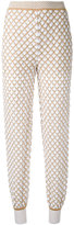 Missoni knitted tapered trousers