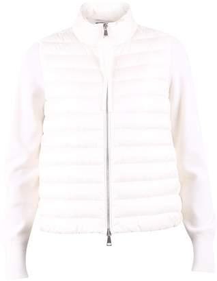 Moncler Logo Zipped Puffer Jacket