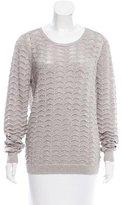 Parker Metallic Cutout Sweater w/ Tags