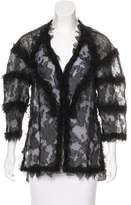 Chanel Silk Tulle Jacket
