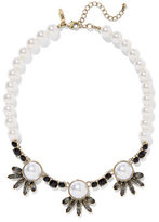 New York & Co. Faux-Pearl Bib Necklace