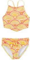 Roxy Girls' Sunrise Summer Bandana Swimsuit Set (716) - 8145127