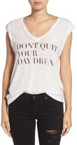 Pam & Gela Women's 'Kate - Don'T Quit' Graphic Tee