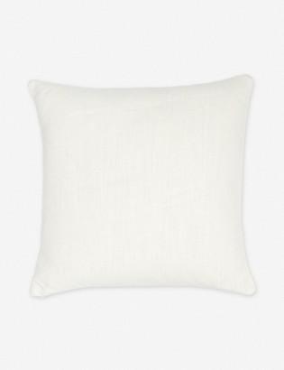 Lulu & Georgia Ines Linen Pillow, Oatmeal
