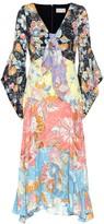 Peter Pilotto Floral-printed crepe midi dress