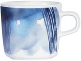 Marimekko Oiva Coffee Cup - White/Blue