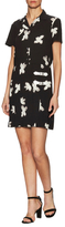 Marc by Marc Jacobs Wrap Front Belted Mini Dress