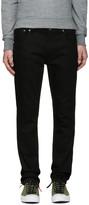 Nudie Jeans Black Thin Finn Jeans
